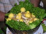 салат из печени рецепт. рецепты слоеных салатов с фото.