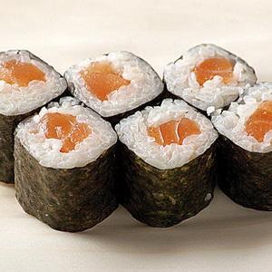 Вкуснейшие роллы с лососем