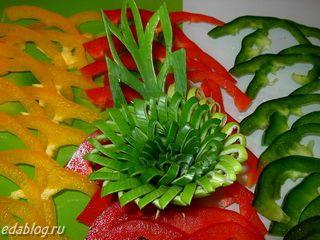 Фото украшения блюд для любящей хозяйки