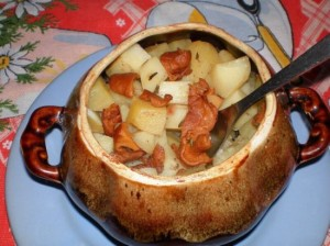 еда в горшочках, приготовление еды в горшочках, рецепты еды в горшочках