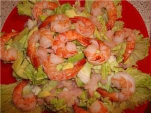 salat iz krevetok