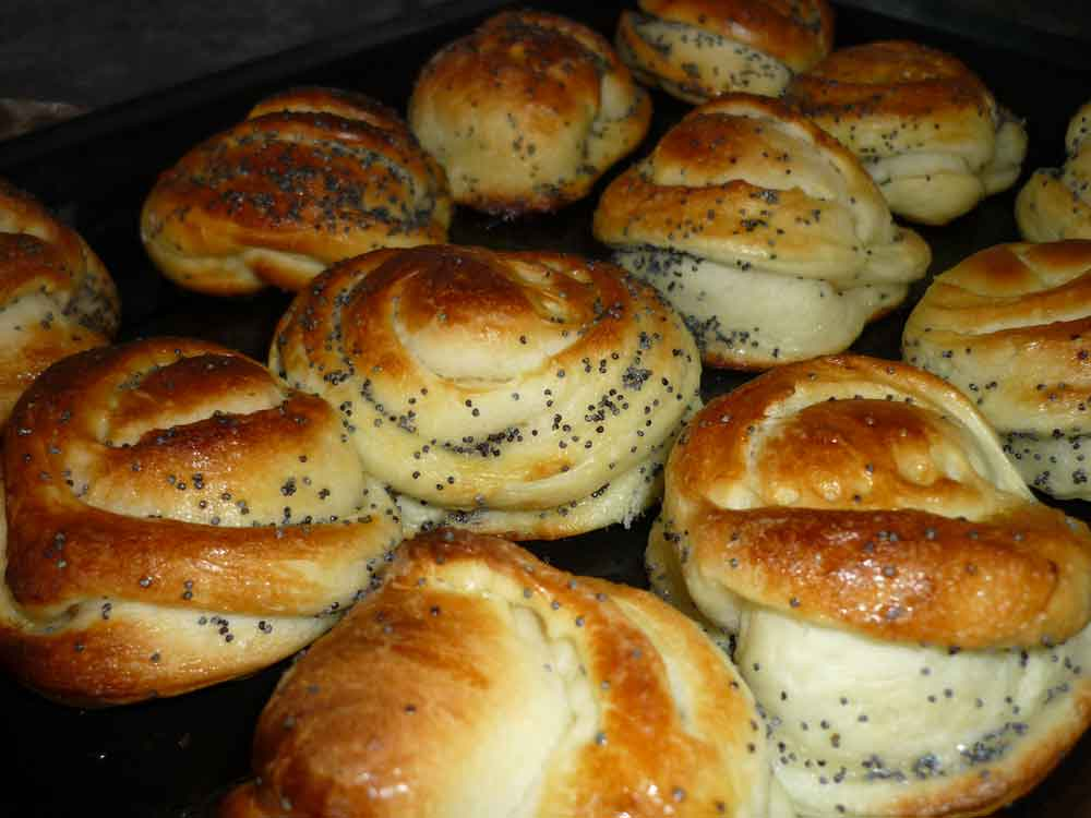 Рецепты приготовления булочек в домашних условиях