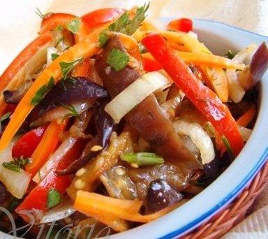 Корейские салаты - секреты приготовления