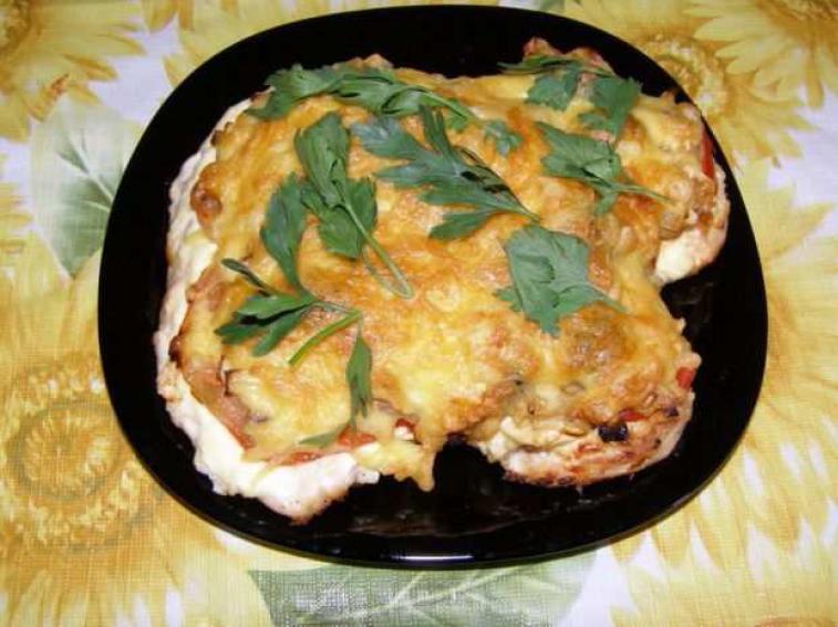 Курица с гарниром блюда рецепты с фото