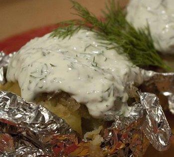 Курица с картошкой в фольге - сытно и вкусно