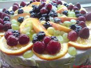 Рецепт йогуртового торта - вкусно и быстро!