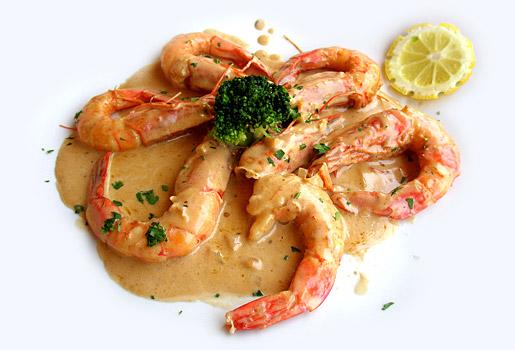 shrimp-garlic