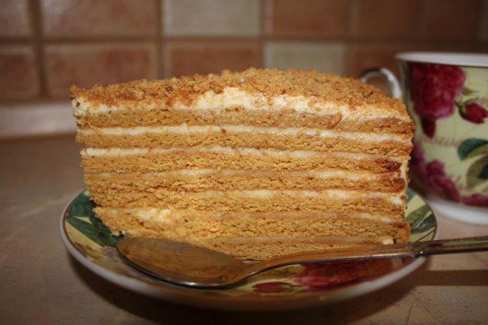 Самый быстрый простой торт
