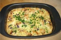 Простой рецепт картофеля запеченного с сыром
