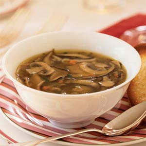 Как приготовить суп грибной с опятами и мясом