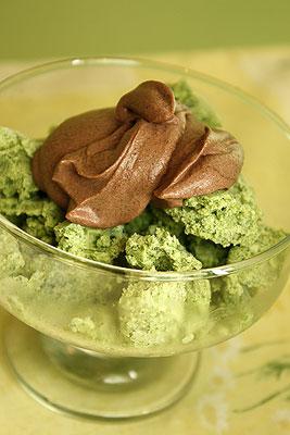 Мороженое из щавеля