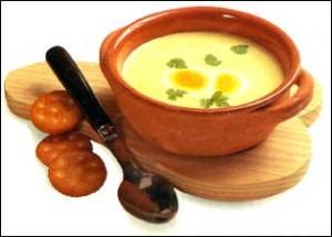 Рецепт — грибной суп-пюре со сливками для семьи