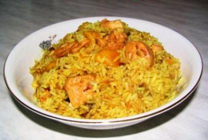 что приготовить на ужин из курицы и риса