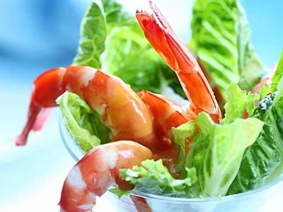 Салат из морепродуктов Морской коктейль