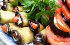 Как баклажаны с помидором и чесноком приготовить