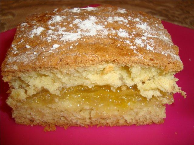 Тертый пирог с лимоном рецепт пошаговый рецепт с