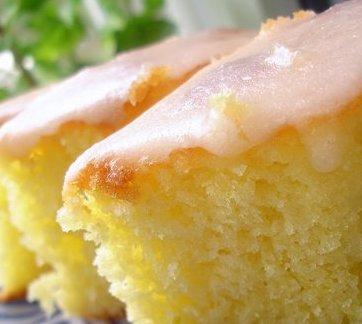 Простой рецепт лимонного пирога с фото
