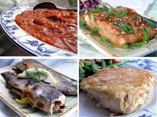 Рецепты рыбных салатов с фото