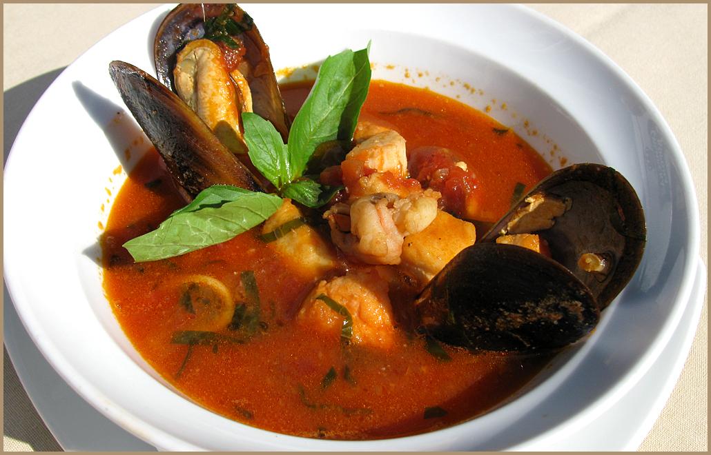 итальянский рыбный суп зуппа ди пеше рецепт
