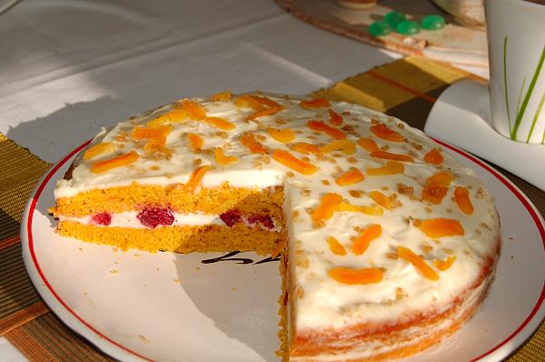 Морковный пирог – вкусное и полезное лакомство