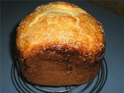 Тесто для пасхи в хлебопечке