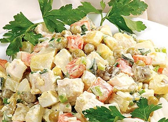 салат столичный классический