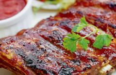Простой рецепт свиных рёбрышек