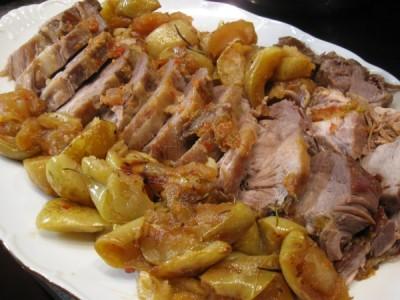 Рецепты вторые блюда из свинины