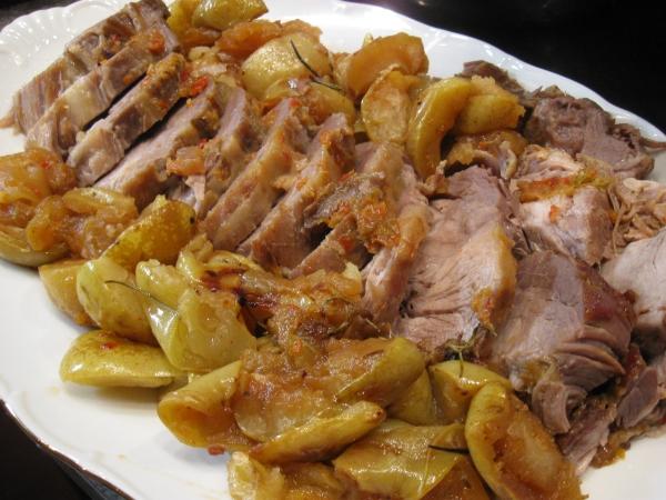 Рецепты вторых блюд из свинины
