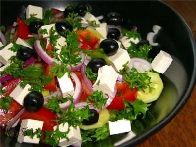 Рецепт блюда «Греческий салат»