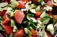 Рецепты овощных салатов с фото