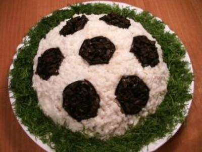 Cалат Футбольный мяч