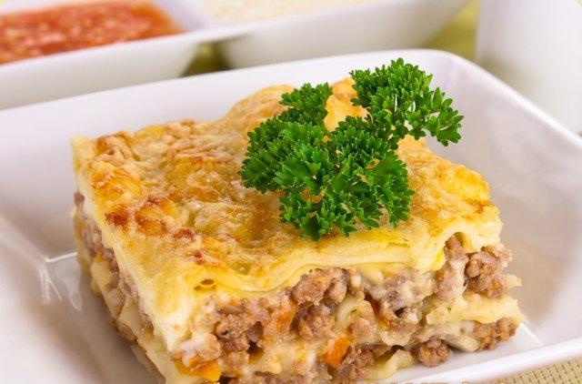 Рецепт лазаньи от Юлии Высоцкой