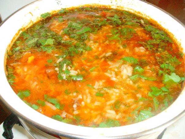 Рецепт блюда суп харчо