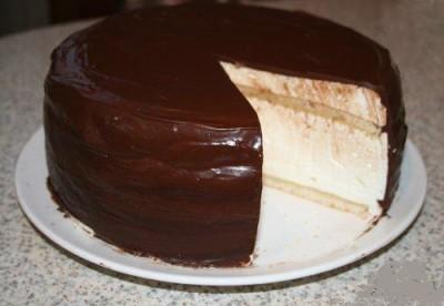 Появление торта птичье молоко