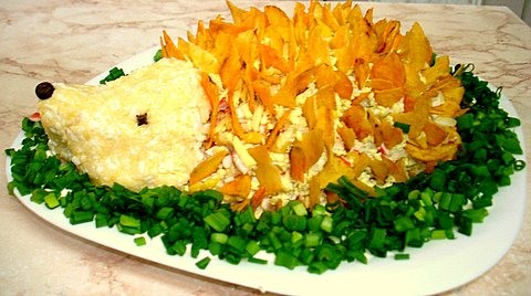 Рецепт красивого «Ежика»
