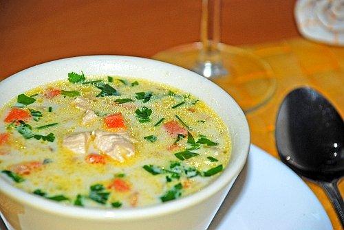 Простой в приготовлении рецепт супа с клецками