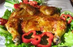 Рецепты выпекания в духовке: цыпленка табака