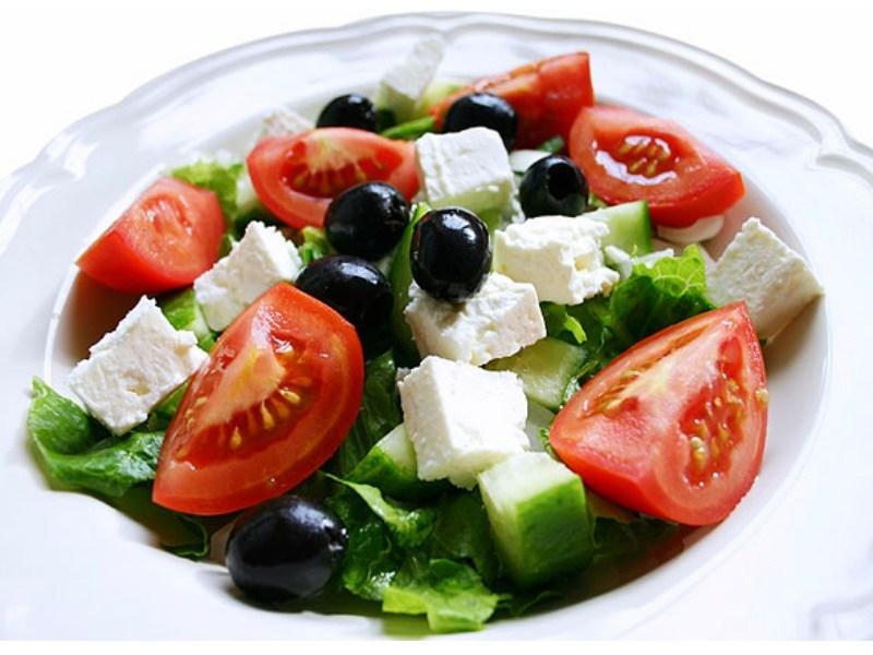 Рецепт приготовления греческого салата: классический, с курицей и в лаваше
