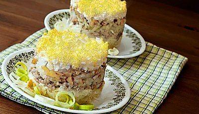Рецепт салата Мужской каприз – балуем любимых