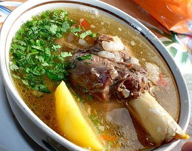 рецепт супа с бараненой мясой