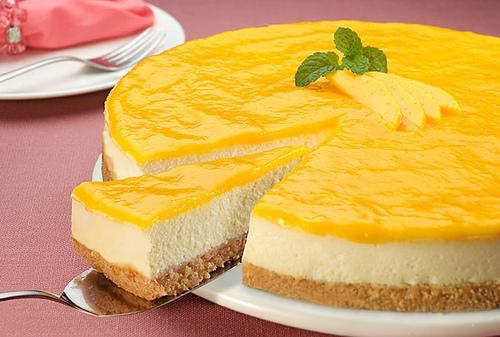 Чизкейк — легкий в приготовлении творожный торт