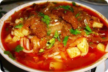 Суп с бараниной — шурпа. Визитка восточной кухни