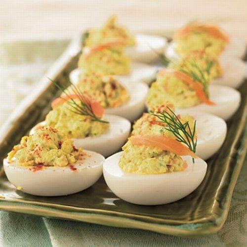 Фаршированные яйца. Разные варианты начинки