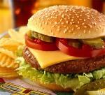 Чизбургер, гамбургер чизбургер, двойной чизбургер