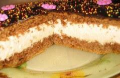 Гора самоцветов, торт с глазурью