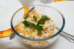 Салат курица, ананас, кукуруза — смело экспериментирум на кухне!