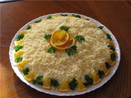 салат курица яйца сыр