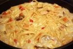 Спагетти со сливками по классическому рецепту из Италии