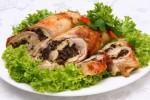 Как приготовить куриные рулеты с черносливом или курагой